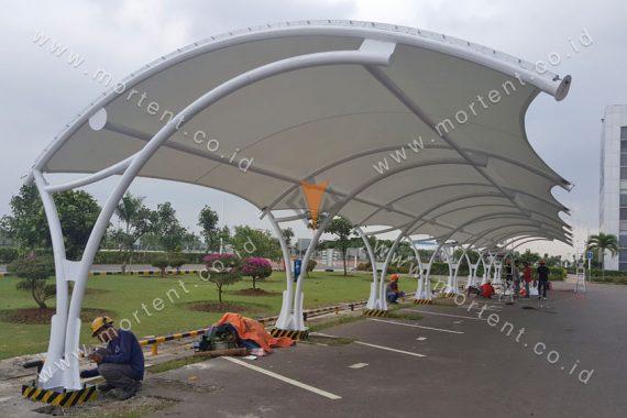 canopy membrane carpark