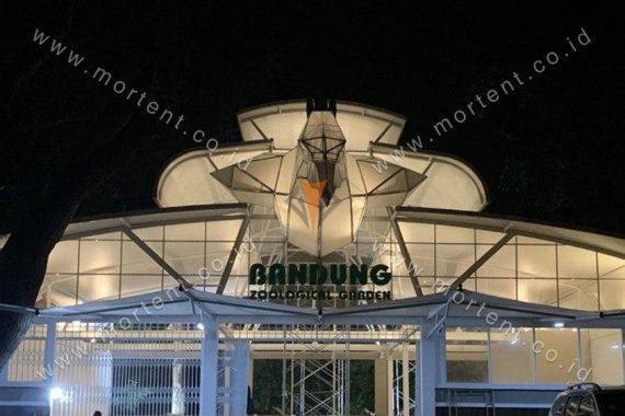 tenda membrane bandung zoo